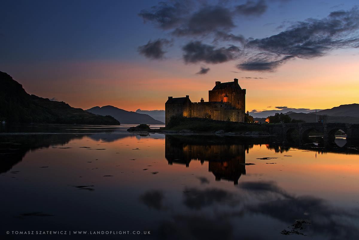 Eilean Dornie Castle Dornie